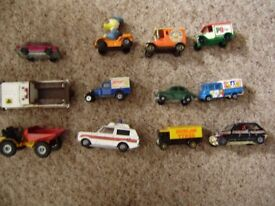 Cars, collection of small cars