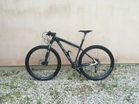 "VERY Quick FELT Nine 2 Carbon XC race bike with Thomson dropper post - 2015. 29"" wheels / 18"" frame"