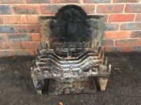 Fire Grate and back Plate £400 2 years ago
