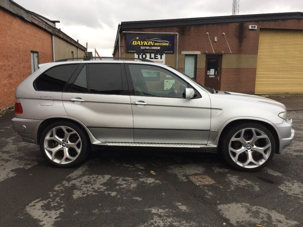 bmw x5 sport petrol and gas great 4x4 jeep not diesel in belfast city centre belfast. Black Bedroom Furniture Sets. Home Design Ideas