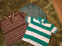 lacoste & Ted Baker tops