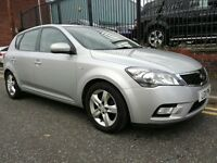 2011 KIA Cee'D 1.6 CRDi EcoDynamics 2 5dr Hatchback, Warranty & Breakdown Cover Available, £2,595