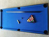 Children's Pool Billiards Table Top Game