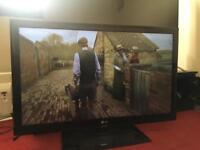 """42"""" skinny LG LED TV WITH REMOTE IN PERFECT WORKING CONDITIONS"""