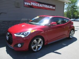2014 Hyundai Veloster TURBO-HEATED LEATHER-NAVIGATION-BACK-UP CA