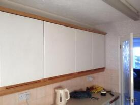 Kitchen units free for collection