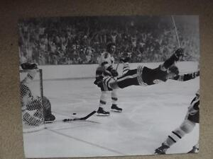 "FS: Bobby Orr's 1970 ""The Goal"" Sheet London Ontario image 1"