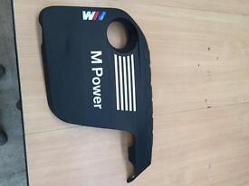 BMW M Power engine cover