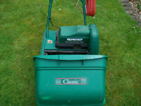 qualcast classic 30 electric lawnmower and scarifier