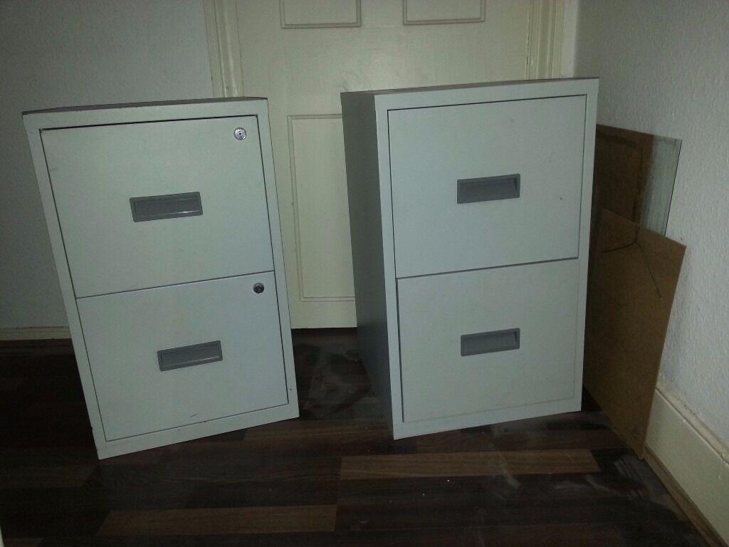 2 File Cabinets £45