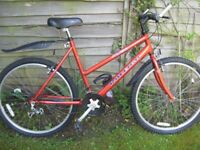 Excellent Raleigh Max ladies mountain bike with extras.