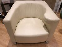 W.Schillig leather armchairs for sale **IMMACULATE