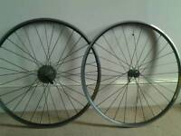 Shimano 700c wheelset for sale