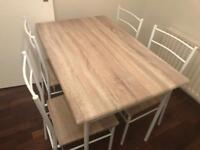Tesco Dining Table and Chairs