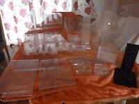 31 assorted retail display material