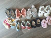0-3 and 3-6 shoes bundle