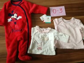 NEW Clothes for a baby girl