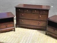 Drawer Chest and 2 Bedside Tables (@07752751518)
