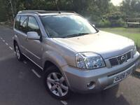 2006 Nissan X Trail Columbia 2.2 Dci 6 Speed 4WD # Sat Nav # Panoramic sunroof # 2 owners # Fsh