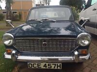 Classic car austin 1100 full mot free tax disk