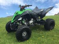 2016 16 YAMAHA RAPTOR 700 SE STEALTH EDITION ~ ROAD LEGAL ~ MAY PX