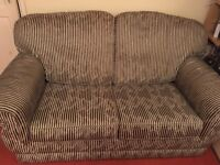 Sofa Bed - metal action, excellent condition