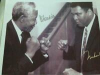 Iconic legend superstar signed photograph