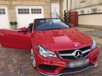 Mercedes CDI E250 Convertible Red IMMACULATE CONDITION