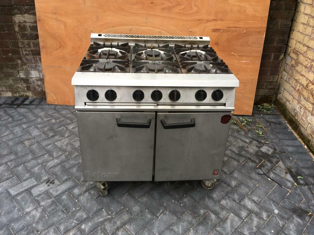 Commercial range cooker