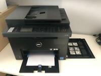 dell printer laser c1765nf - faulty but easy to fix ! Bargain buy