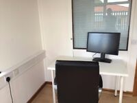 Desk Space available only £20pw / £80 a month