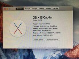 iMac 20in Intel Core 2 Duo OS X 10.11.6