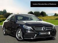 Mercedes-Benz C Class C250 D AMG LINE PREMIUM PLUS (black) 2015-11-30