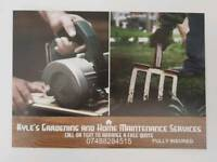 Gardening and home maintenance Services