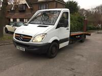 Mercedes Sprinter 311cdi, 2006, Recovery truck, Beavertail, LONG MOT, No Rust.