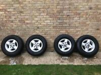Nissan navara wheels and tyres