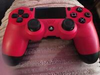 PS4 PAD ONLY. RED