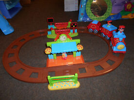 ELC Happyland Country Train Set with Light & Sound (In Very Good Used Condition)