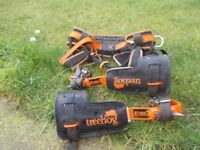 Tree Surgeon Harness / Climbing Spikes / Chainsaw