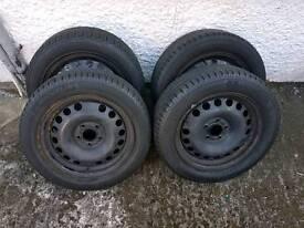 Vauxhall 16 inch steel wheels
