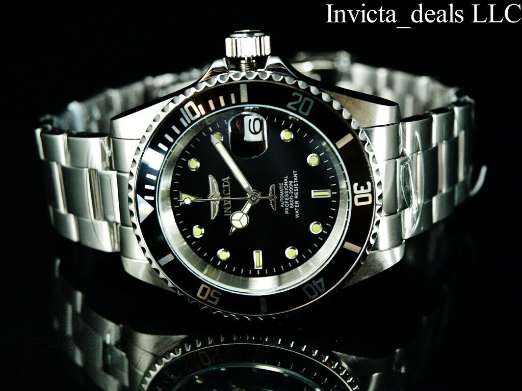 Invicta Men's Pro Diver 17039 Silver Stainless-Steel