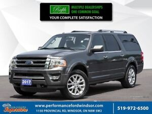 2017 Ford Expedition Max Limited ***NAV, 4x4, sunroof***