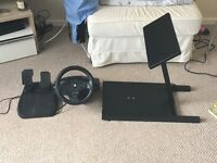 PlayStation steering wheel & stand