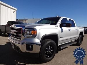 2015 GMC Sierra 1500 SLT - Crew Cab, Running Boards, 18,989 KMs