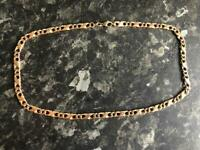 9ct solid gold chain unisex 23 grams
