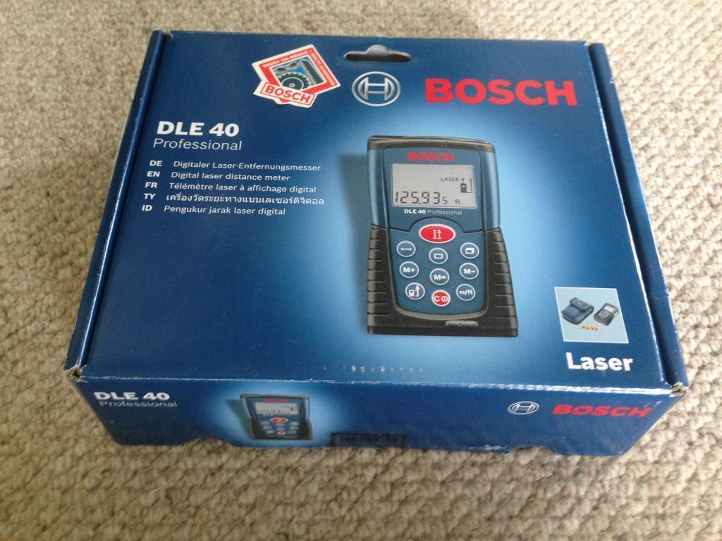 Bosch dle 40 professional laser rangefinder in melbourne