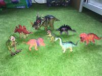 Toy dinosaur bundle
