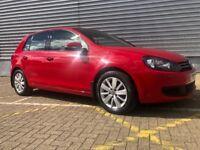 Volkswagen Golf 1.4 TSI Match Red 5dr