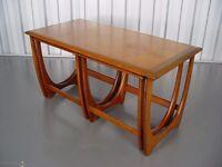 Retro G Plan Nest Of Tables Vintage Furniture X