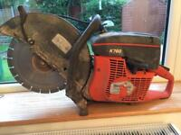 "Husqvarna K760 ( 2013) 14"" guard Petrol disc cutter saw GWO"